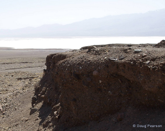 A wash in Death Valley NP