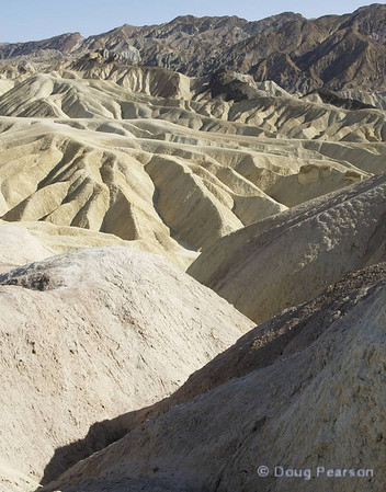 Overlook in Death Valley NP