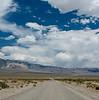 Death Valley Road near Eureka Dunes