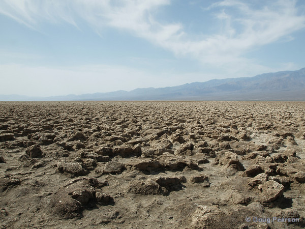 Former lake bed in Death Valley NP
