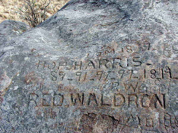 The REAL Rocky Top<br /> Signatures of herders from long ago