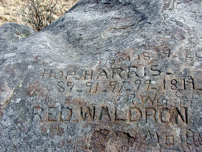 The REAL Rocky Top Signatures of herders from long ago