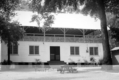 The Pavilion (b/w)