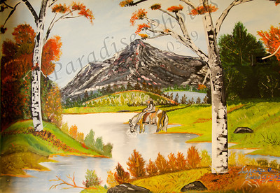 horse mtn painting in Filbertos 9071