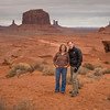 Standing a John Ford Point in Monument Valley