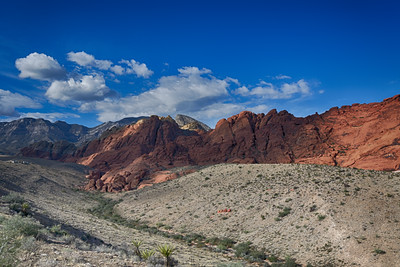 Red Rock Canyon near Las Vegas Nevada