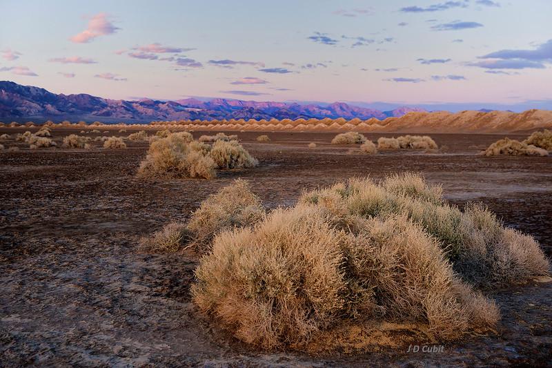 Desert Saltworks Early Dusk
