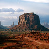Landscape of Monument Valley