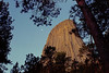 #64 Devil's Tower<br /> In 1906 Devils Tower became the First National Monument. Located in Wyoming, Devils Tower is also a religious site for the American Indians.  It rises 1,280 feet above the valley floor.