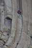 Devils Tower 8002<br /> William Rogers and Willard ripley, local ranchers, are the first known individuals to climb Devils Tower on July 4, 1893. Today hundreds of climbers go up Devils Tower, 1280 feet high.