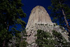 Devils Tower 7917<br /> In 1906 Devils Tower became the First National Monument. Located in Wyoming. Devils Tower is also a religious site for the American Indians.  It rises 1,280 feet above the valley floor.