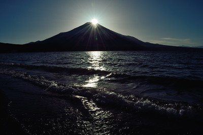 Diamond Fuji at Lake Yamanaka