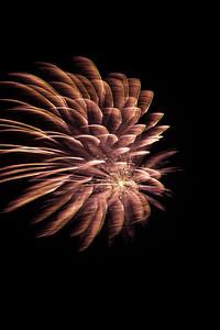 Fireworks burst, #1