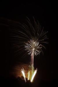 Fireworks burst, #2