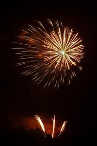 Fireworks burst, #4