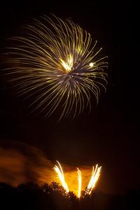 Fireworks burst, #3