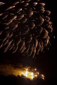 Fireworks burst, #7
