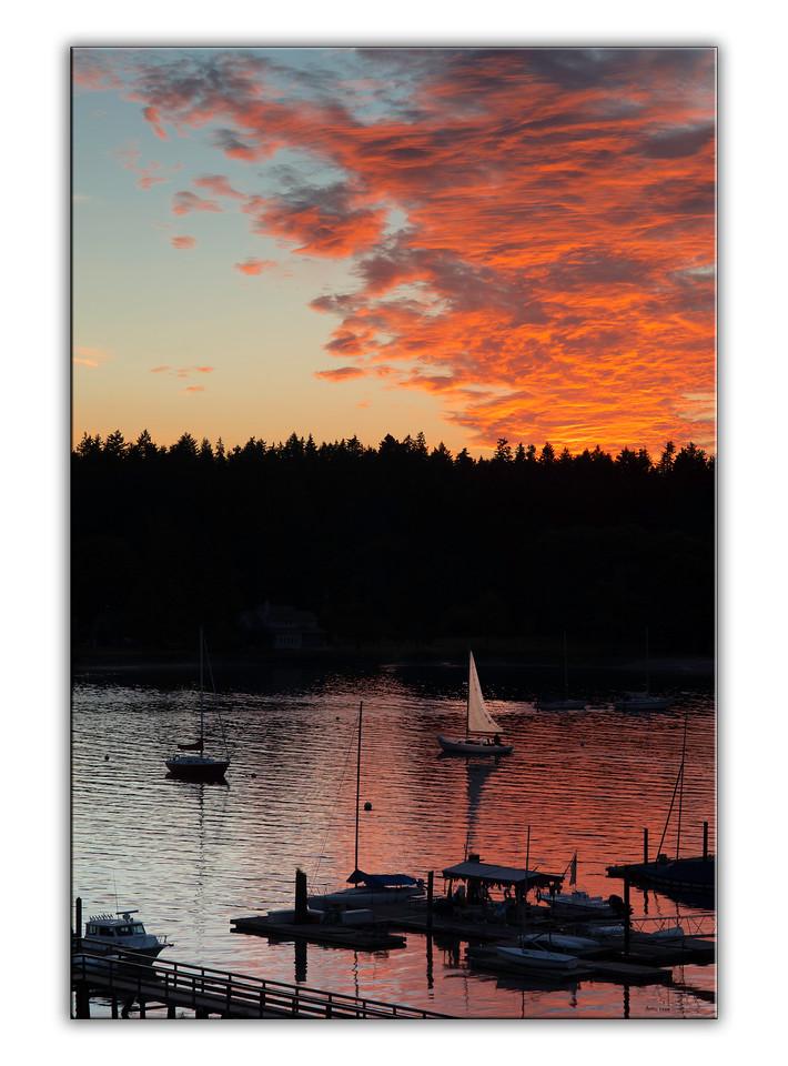 Northwest Summer sunset