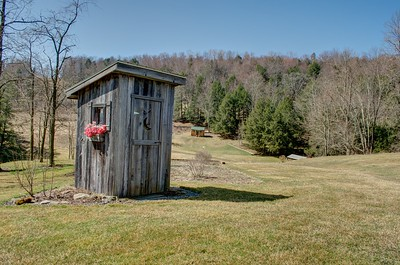 Outhouse with HDR effect
