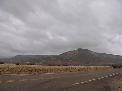 Driving through northern New Mexico 2010, Nov.