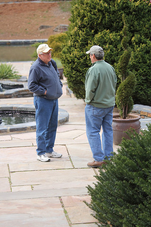 Ed and Gary - Duke Gardens 3/11
