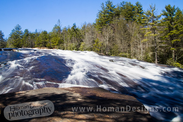 Dupont State Forest waterfalls