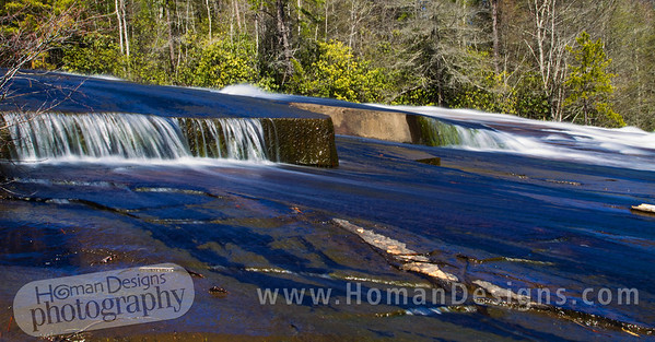 Bridal Veil Falls in DuPont State Forest.