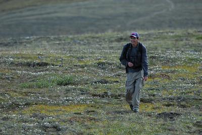 Mark Gary on the Pinnell Mountain Trail, Alaska