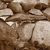 Stone Wall (sepia)