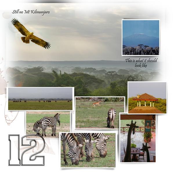 Day 12 Amboseli to Nairobi 1