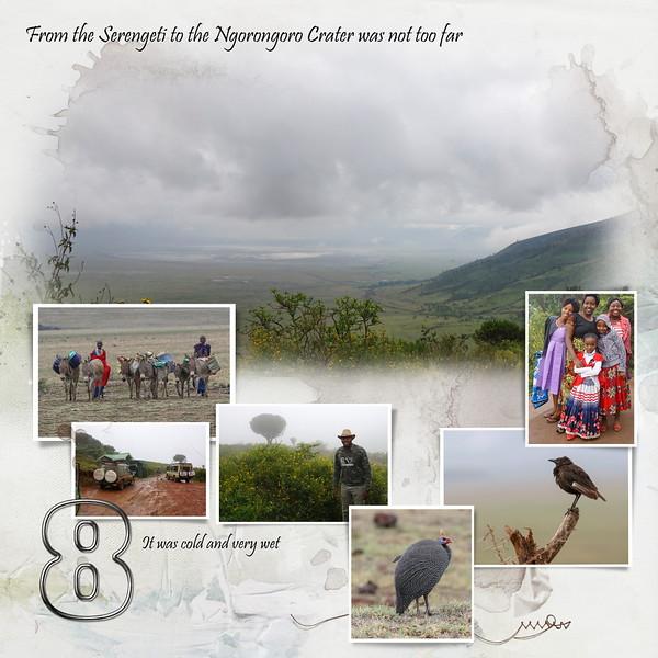 Day 08 Serengeti to Crater 1
