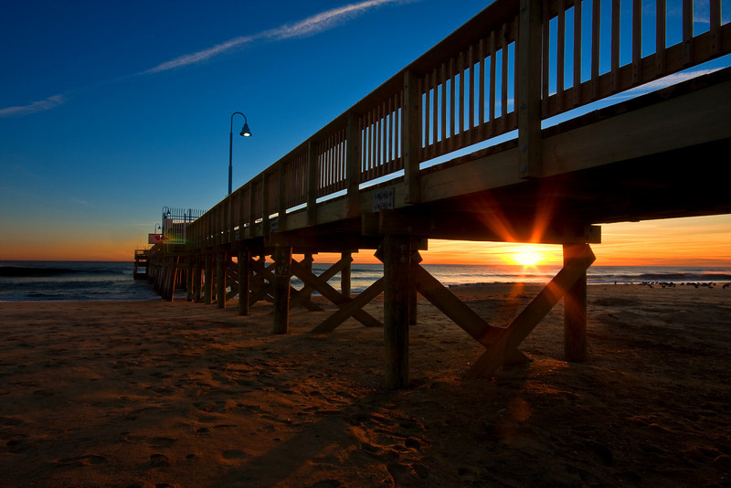 Pier Sunrise, Sandbridge Beach, VA