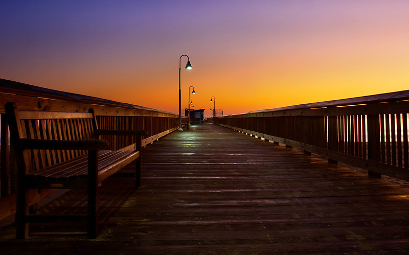 Pier at Dawn II, Sandbridge, VA