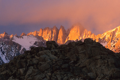 Mt Whitney, Winter Sunrise from Alabama Hills. MtWit1a_35