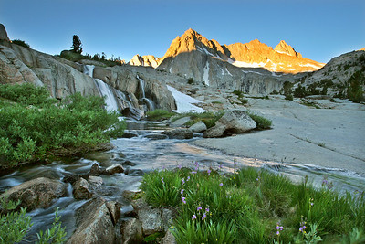 Sabrina Basin, Moonlight Falls sunrise. 0806_5439