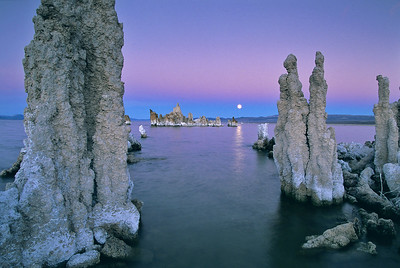 Mono Lake, November Moonrise. 45