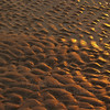 Sand formations in sunrise  - Hunting Island S.P., SC