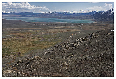 Vista Point - Over looking Mono Lake