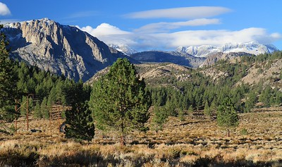 Hwy 395, Virginia Lakes hike and Sonora Pass Oct 6th