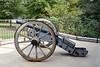 PA-WC17-2020.9.15#0683.1. A Revolutionary War era Canon. Visitor's Center, Washington Crossing Historic Park. Bucks County Pennsylvania.