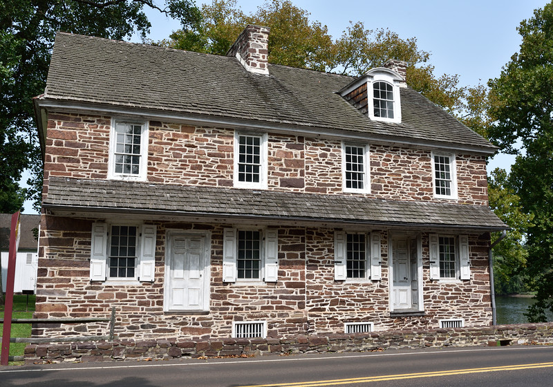 PA-WC44-2020.9.15#0725.1. McConkey's Ferry Inn. Washington Crossing Historic Park. Bucks County Pennsylvania.