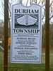 PA-D-2021.1.22#5411.2. Interpretive sign for historic Durham Township, Bucks County Pennsylvania.