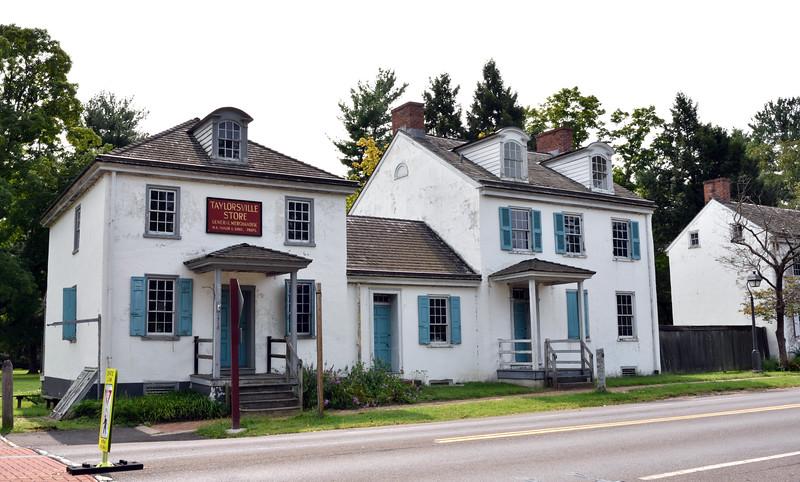 PA-WC48-2020.9.15#0723.1. Taylorsville General Store. Washington Crossing Historic Park. Bucks County Pennsylvania.