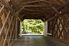 PA-CBCR3-2020.9.14#0268.3. Interior construction of Cabin Run Covered Bridge. Bucks County Pennsylvania.