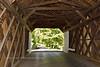 PA-CBCR3-2020.9.14#0268.3. Interior construction of Cabin Run Covered Bridge. Bucks County Pennsylvania.