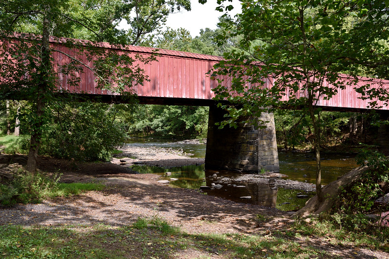 PA-RSP-2020.9.14#0299.2. The Means Ford Bridge over Tohickon Creek, part of Ralph Stover St. Park, Bucks County Pennsylvania.