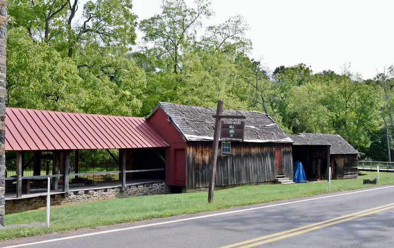 PA-SMM7-2020.9.14#0254.4. Part of the Stover-Meyers Grist/Saw Mill on Tohickon Creek. Bucks County Pennsylvania.