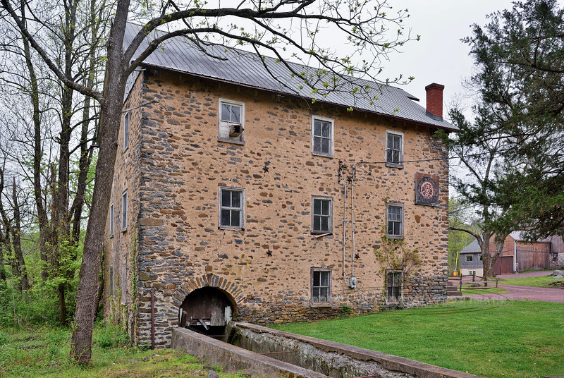 PA-LS3-2016.5.11#566.5. Levi Sheard Grist Mill, circa 1798. Bucks County Pennsylvania.