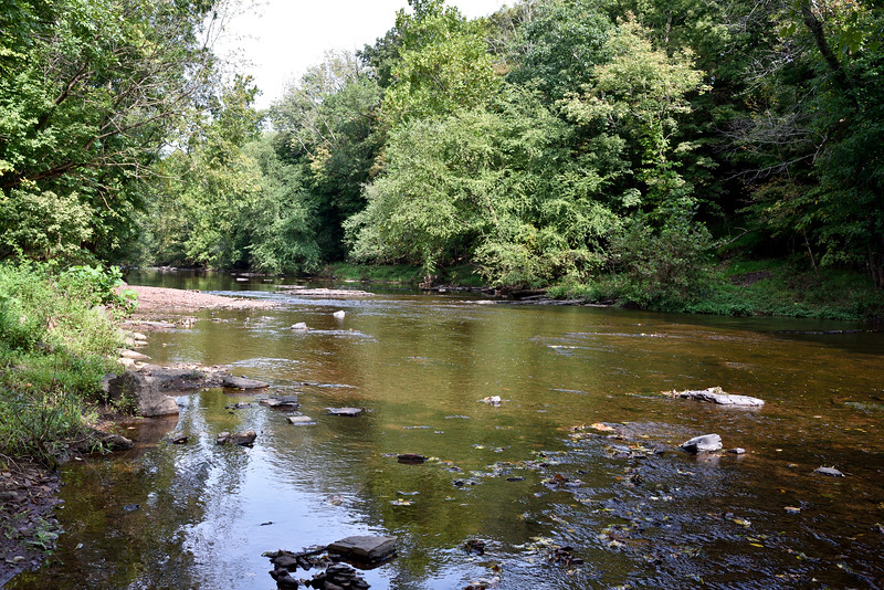 PA-2020.9.14#0261. The Tohickon Creek not far from the Stover-Meyers Mill. Bucks County Pennsylvania.