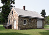 PA-WC68-2020.9.15#0696.1. The Blacksmith shop that was part of the Frye House property. Washington Crossing Historic Park. Bucks County Pennsylvania.